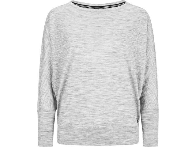 super.natural Kula - Camiseta de manga larga Mujer - gris
